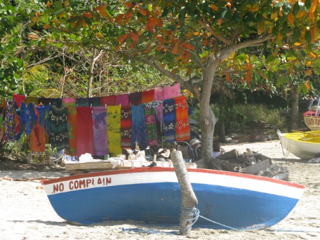 Friendship Rose Boat on Beach